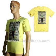 2012 new fashion polyester O-neck short sleeve t shirt