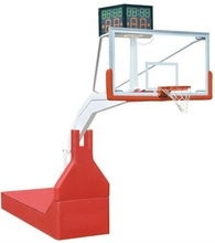 Manual hydraulic basketball stands/hoops/systems