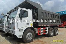 6*4 mining howo dumper truck ZZ5707S3840AJ
