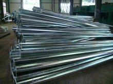 Q235 steel galvanized lighting pole