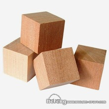 Small Wood Cubes