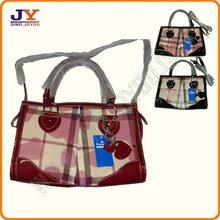 PU(PVC) & Jacquard Ladies' Hand bags