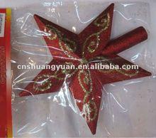christmas star gold drawing