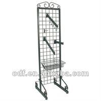 Double-sided Decorative Metal Grid Merchandiser
