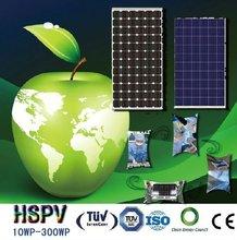 Photovoltaic high efficiency low price solar panel 10W-300W