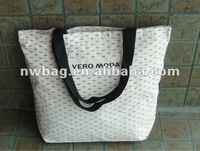 2012 100% Cotton Large Tote Bags Wholesale