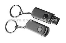 Metal 2gb usb flash driver with keychain