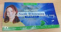 Printed Ziplock Bag for Tooth Clean Powder