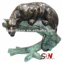 Bronze Sculpture Animal Tiger SBN-BZA-B670