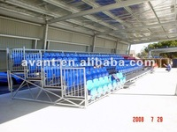 Arena metal tribune outdoor bleacher stand for sports events