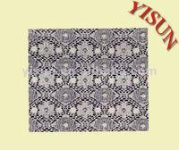 High quality cotton nylon lace fabric