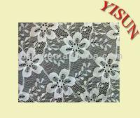 100% High Quality Nylon Spandex Jacquard african lace fabrics