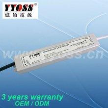 Constant voltage 12v waterproof led driver,EMC standards,IP67