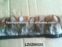 lady Amherst pheasant plumage fringe trims natural LZXZ00533
