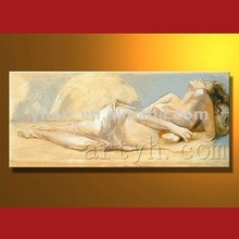 Hot Sell Handmade Chinese Nude Girl Oil Painting