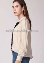 2012 new fashion lady chiffon woman blouse