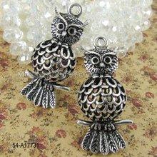 High quality tibetan zinc alloy charming pendant owl