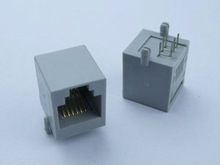 Rj11 6P6C with telephone socket