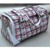 UW-PBP-100 Triplepurpose red checked oxford fabric dog carrier bag, dog hand bag,dog messenger bag