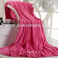 Single Color Superfine Fiber Blanket 07