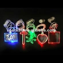 assorted plastic glow pendant necklace general event decorations