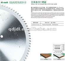 Aalen carbide tipped V TYPE saw blade for speaker box and gift boxes