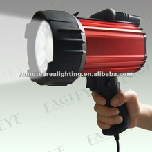 2012 Newest portable search light Q4 Cree 3W ,build in battery rechargeable led emergency light 3.7v 3Ah Lithium battery