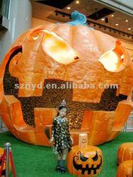 Foam pumpkin for Halloween