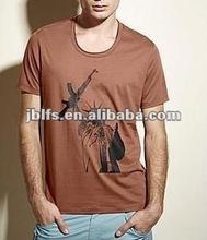 the latest fashion cotton t shirt orignal design for men in 2012