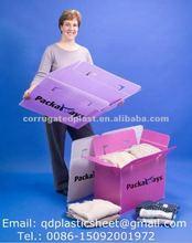 PP Corrugated Plastic Archive Box