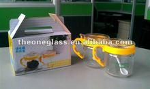 AY-D4 glass bowl set