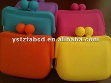 2012 New Trendy Fashion Silicone Purse Bag Rectangle
