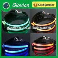 2012 Hot Selling electronic dogs leash swivel for dog leash super bright led dog leash