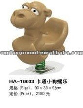 EXCELLENT QUALITY 2012 ROTATIONAL MOULDING ANIMAL RIDE ON TOY(HA-16603)