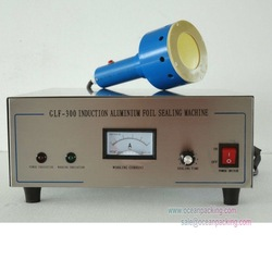 electromagnetic induction cap sealer for small factories