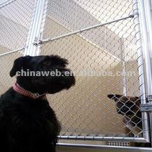 galvanized pet kennel