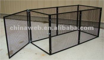 collapsible metal dog kennel