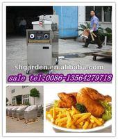 broasted chicken fryer(real Manufacturer,CE,ISO9001,equip oil filter system)