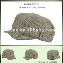 2012 fashion blank cadet military style short peak hat cap ccap-0251