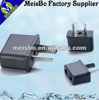 2 flat pins Australia electrical outlet and plug for electrical appliances