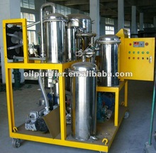 Edible oil purifier / Stainless Steel type Vegetable oil filtration system / Cooking oil recycling machine