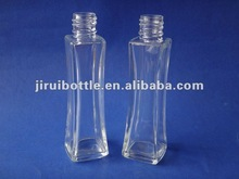 new style empty glass perfume spray bottle