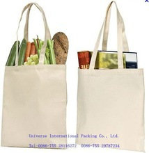 2011 Customized canvas bag for supermarket