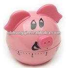 60 minutes Cute Plastic Cartoon Pig/Piggy Kitche