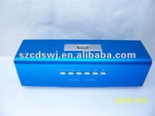 2012 most fashion portable USB/SD card speaker with high qaulity