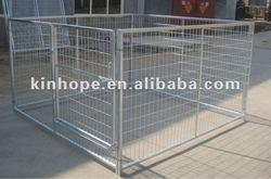 1.2m high heavy duty galvanized dog kennel