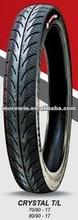 70/90-17 80/90-17 crystal tubeless motorcycle tyre