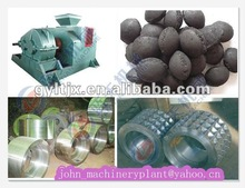 2012 compact and durable Four-roller double ball briquette pressing machine