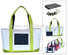 solar powered bag