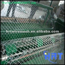 Chain Link Wire Mesh Fence In Production